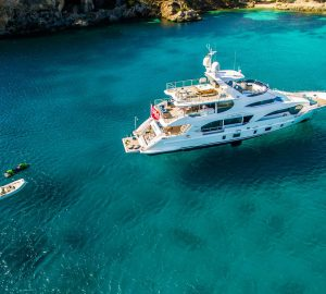 33m Mediterranean charter yacht Incontatto changes name to LULU