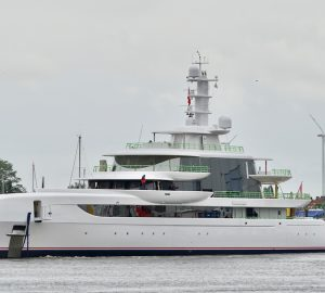 Spectacular 80m Abeking and Rasmussen mega yacht EXCELLENCE launched