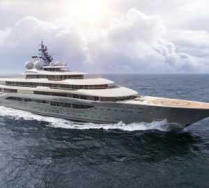 136m Lurssen mega yacht FLYING FOX one of the largest superyachts announced for charter