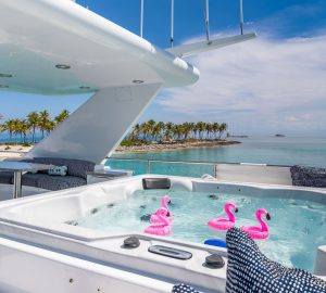 44m AT LAST offering reduced yacht charter rates in the Bahamas