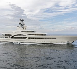 110m Feadship mega yacht ANNA returns home for maintenance