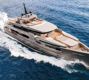40m motor yacht GIRAUD available on French Riviera and Corsica with no delivery fees