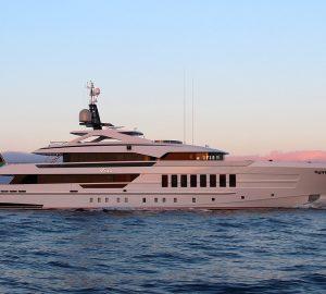 55-metre Heesen motor yacht Vida is on the way to the Mediterranean