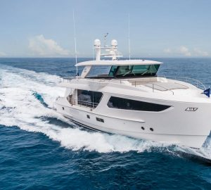 Horizon Yachts delivers second FD77 motor yacht to Australian Owner
