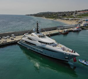 48m LILIUM yacht launched in Turkey by Bilgin Yachts
