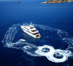 Cruise the beautiful Greek Islands aboard 43m MAGENTA M and enjoy 10% off your charter vacation