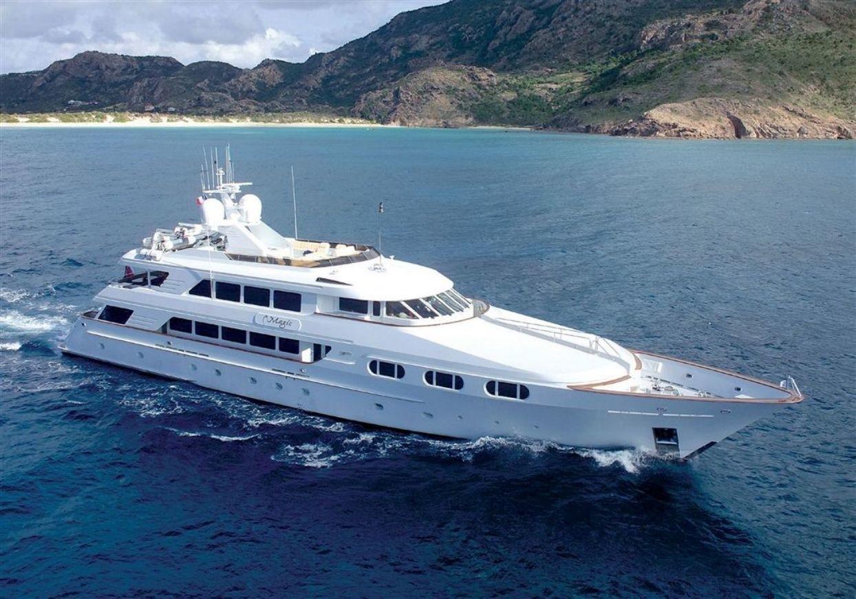Luxury yacht ATTITUDE