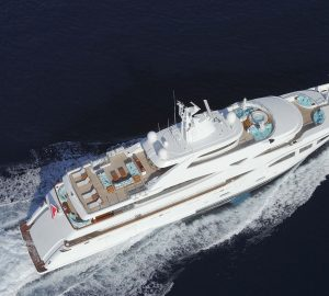 60m charter yacht RAMBLE ON ROSE leaves ICON shipyard after extensive refit