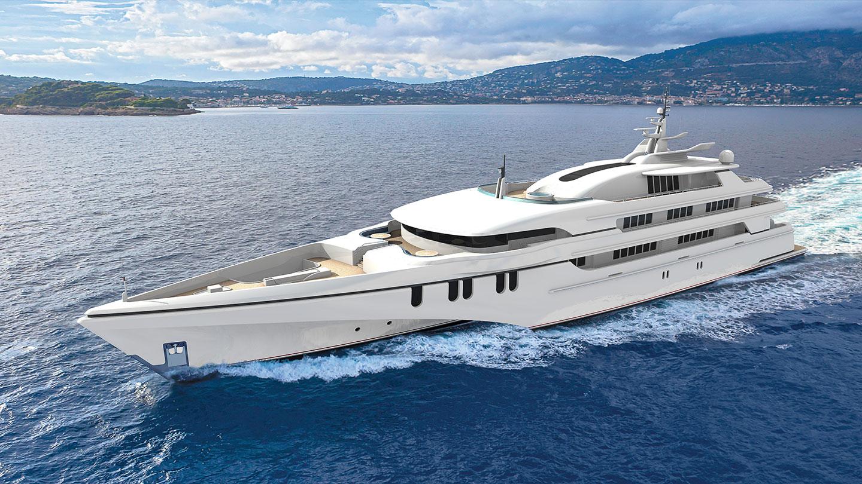 Luxury yacht WHITE RABBIT