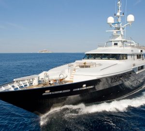 Explore the Eastern Mediterranean charter grounds aboard Giorgio Armani-styled superyacht Mariu