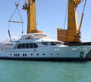Cerri Cantieri Navali launch 31m motor yacht VANADIS