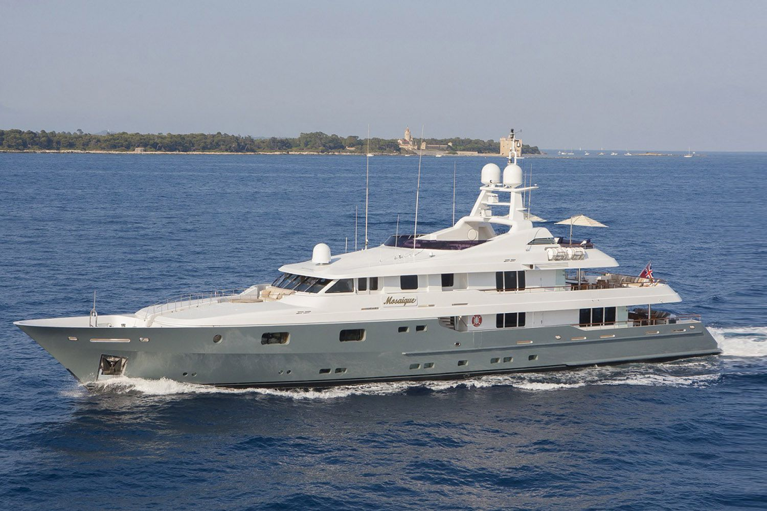 Mosaique superyacht available for charter in the West Med