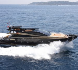 32m charter yacht CLAREMONT offering reduced rates in West Med