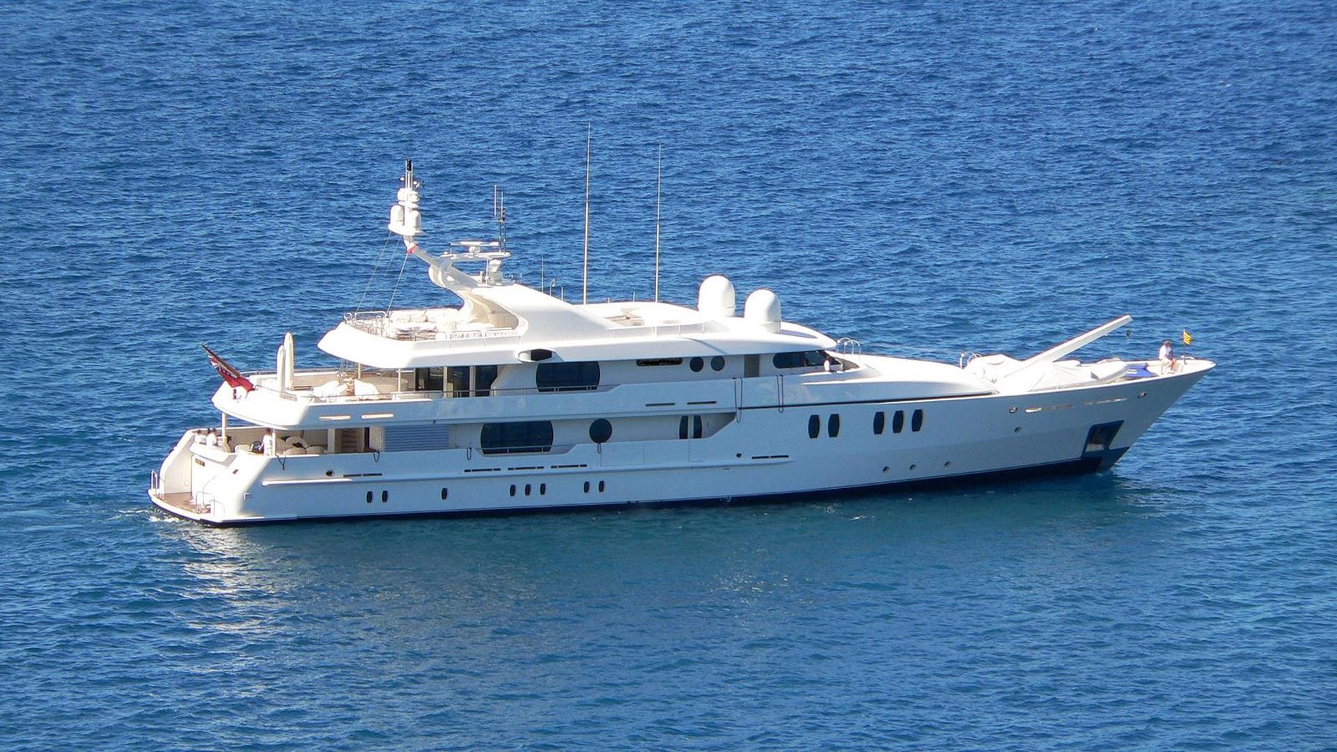 Motor yacht JAZ profile