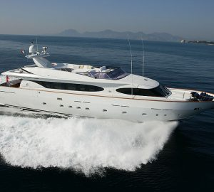 29m superyacht TALILA offering special reduced rate from Monaco
