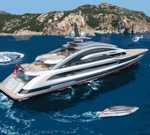 Heesen and Winch Design announce start of 80m superyacht COSMOS construction