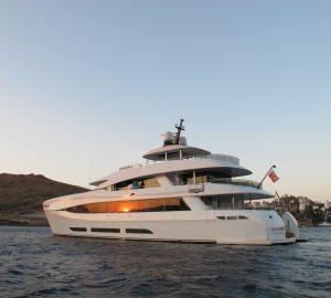 34m luxury yacht QUARANTA offering 15% off Croatia charter vacations