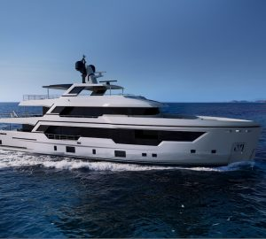 Rossetti Superyachts places coin under keel of new RSY 38m Explorer