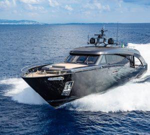 """M/Y Freedom: 28m Cavalli Yacht """"that a Batman would drive!"""""""