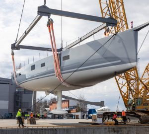 34m Sailing Yacht LIARA launched at Baltic Yachts