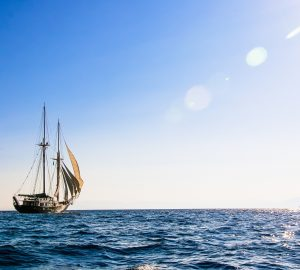 Sail around Greek islands aboard 112' S/Y ARKTOS and enjoy a 15% charter discount