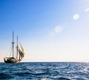 Sail around Greek islands aboard 112' S/Y ARKTOS and enjoy a 15% charter discount