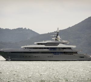 Sanlorenzo launches 64m Steel Motor Yacht ATTILA
