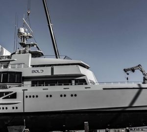 85m Explorer Superyacht BOLD launched at SilverYachts in Australia