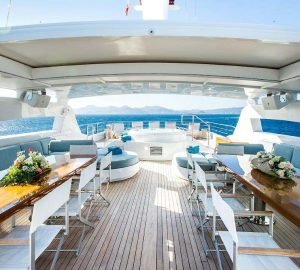 52m Victory renamed VERTIGO and available for charter in the Mediterranean