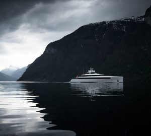 Stunning photos of 58m Feadship yacht NAJIBA in Norway