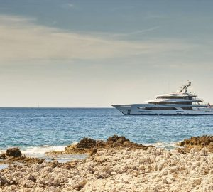 The magnificent 70m superyacht JOY offering 25% off Mediterranean charters