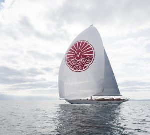 "42m Vijonara wins ""Best Sailing Yacht"" award at the 2019 WSA"