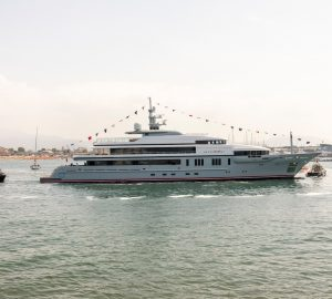 VSY launches 64-metre motor yacht Atomic