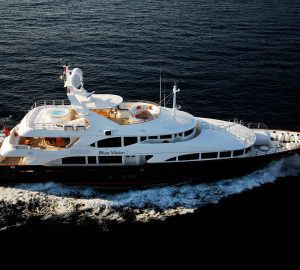 Special yacht charter discount offered by 44m BLUE VISION in the Adriatic