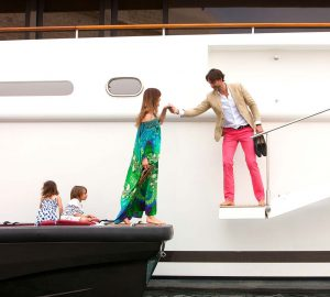 60m Benetti charter yacht ST DAVID offering 10% off in West Med