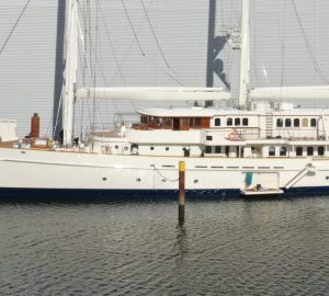 90m Three-masted schooner ATHENA relaunched after refit