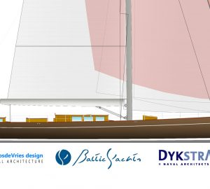 Custom classic 39.6m yacht to be built at Baltic Yachts