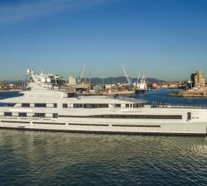 Benetti luxury charter yacht Lana commences sea trials