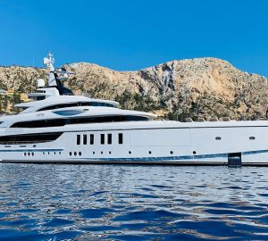 63m Superyacht Metis delivered to her owner