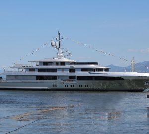 Codecasa launchs 65m motor yacht Regina d'Italia
