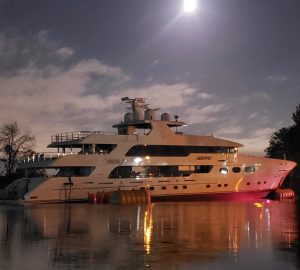 50m superyacht Jackpot launched at Christensen