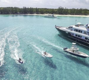 Yacht charter special in the Bahamas with 45m superyacht M3