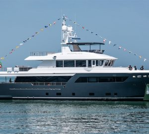 31m Motor yacht Archipelago launched at CdM