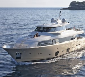 Enjoy 15% off yacht charter vacations in West Med with 26m Ferretti LA PAUSA