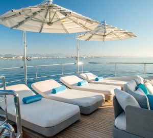 Excellent Charter Special offered by 42m SOY AMOR in France, Italy, Corsica and Sardinia