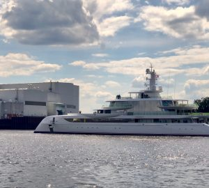Watch: Brand New 80m Superyacht Excellence on sea trials