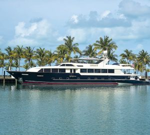 Refitted luxury charter yacht Legacy ready for summer sunshine in Florida and the Bahamas