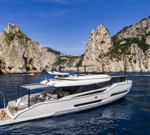 New for charter: 22m motor yacht MOANNA I available on French Riviera