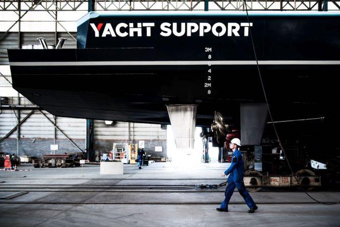 DAMEN YS4508 JOY RIDER yacht support vessel