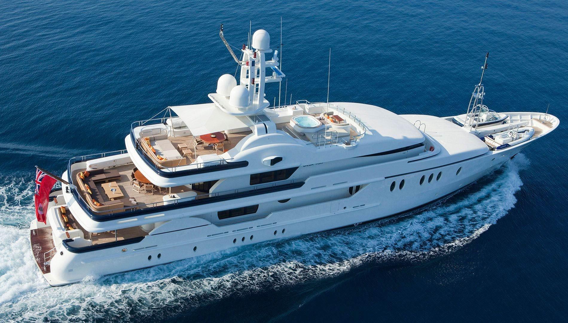 DEJA TOO luxury superyacht